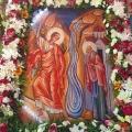 Η εορτή του «ἐν Χώναις»  θαύματος στον Ταξιάρχη Ασπροπύργου και το Τρισάγιο του μακαριστού Αρχιεπισκόπου κυρού Χρυσοστόμου