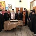 Η κοπή της Αγιοβασιλόπιτας του Ιερού Κλήρου από τον Αρχιεπίσκοπό μας