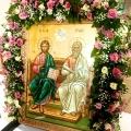 Η εορτή της Πεντηκοστής στην Αγία Τριάδα Ασπροπύργου