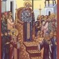 Με κατάνυξη η εορτή της Υψώσεως στην Ι. Μ. Αγίων Πατέρων της Χίου