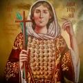 Η μνήμη της Αγίας Nεομάρτυρος Αικατερίνης της εν Μάνδρα