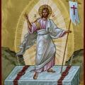 Η απόδοση του Πάσχα στην Ιερά Μονή Αγίου Μηνά Ανθούσας