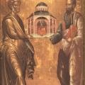 Η εορτή των Πρωτοκορυφαίων Πέτρου και Παύλου στη Δάφνη Αθηνών και στα Λεύκτρα Βοιωτίας